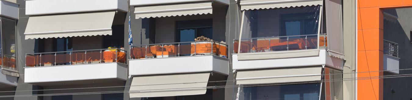 Τέντες μπαλκόνι