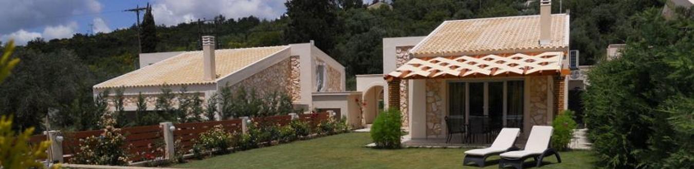 Shading system in a villa