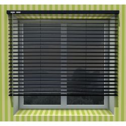16mm Roller blinds patterned & perforated