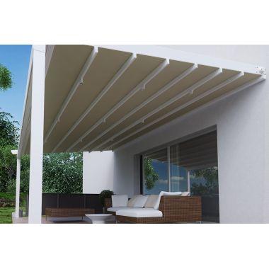 Pergola awning system