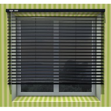 25mm Roller blinds patterned & perforated