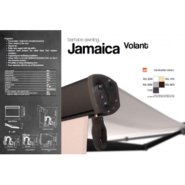 Τέντα μπάρας JAMAICA VOLANT